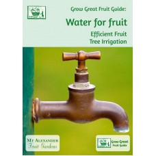 Water for fruit. Efficient Fruit Tree Irrigation
