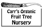 Carr's Organic Fruit Tree Nursery